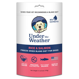 Under The Weather Rice & Salmon Freeze-Dried Bland Diet Dog Food 170g