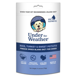 Under The Weather Rice, Turkey & Sweet Potato Freeze-Dried Bland Diet Dog Food 170g