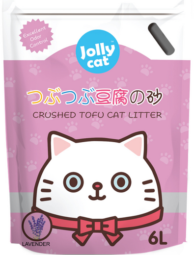 10% OFF: Jollycat Crushed Tofu Lavender Cat Litter 6L - Kohepets
