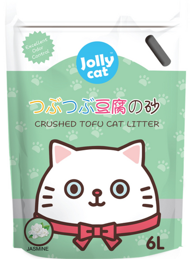 10% OFF: Jollycat Crushed Tofu Jasmine Cat Litter 6L - Kohepets