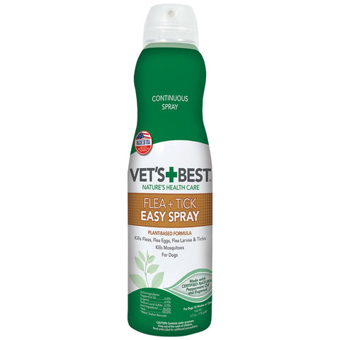 Vet's Best Flea and Tick Home and Go Easy Spray 6.3oz - Kohepets