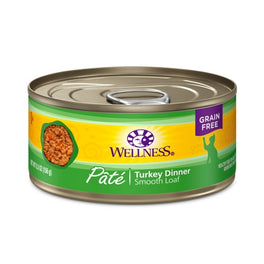 Wellness Turkey Pate Canned Cat Food 155g