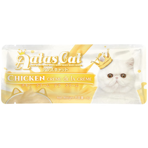 Aatas Cat Creme De La Creme Chicken Liquid Cat Treat 16g - Kohepets