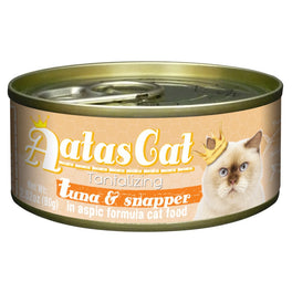UP TO 22% OFF: Aatas Cat Tantalizing Tuna & Snapper in Aspic Canned Cat Food 80g