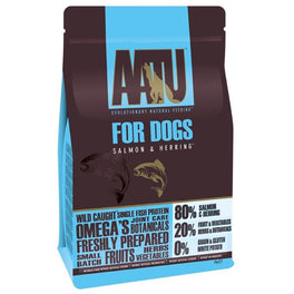 25% OFF 1.5kg: AATU Salmon & Herring Grain Free Dry Dog Food (Exp Oct 19)