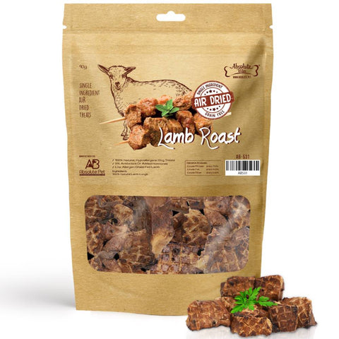 33% OFF: Absolute Bites Air Dried Lamb Roast Dog Treats 90g - Kohepets
