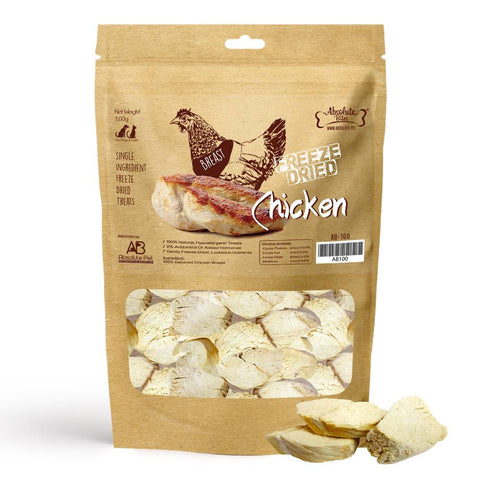 33% OFF: Absolute Bites Freeze Dried Chicken Dog & Cat Treat 70g