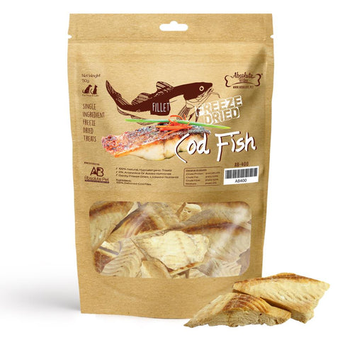 33% OFF: Absolute Bites Freeze Dried Cod Fish Dog & Cat Treat 30g