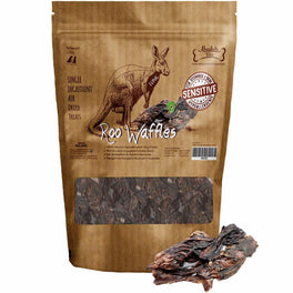 Absolute Bites Roo Waffles Air Dried Dog & Cat Treats 220g