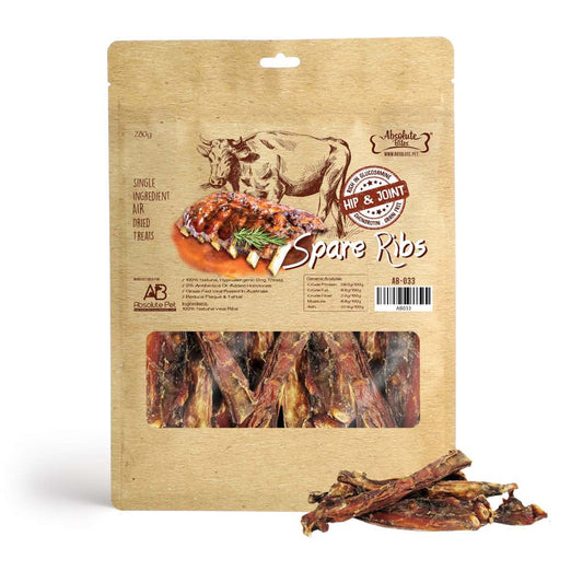 $11 OFF: Absolute Bites Air Dried Spare Ribs Dog Treats 280g - Kohepets