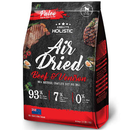 $20 OFF & FREE TREATS: Absolute Holistic Air Dried Beef & Venison Dog Food 1kg
