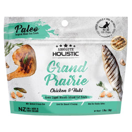 'BUY 2 GET 1 FREE': Absolute Holistic Grand Prairie Air Dried Grain-Free Cat Treats 50g (LIMITED TIME)