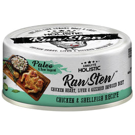 Absolute Holistic Raw Stew Chicken & Shellfish Grain-Free Canned Cat & Dog Food 80g