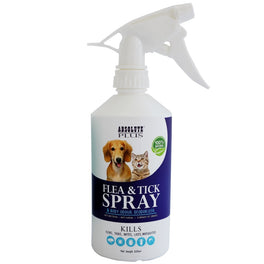 Absolute Plus Flea & Tick Control Spray With Deodorizer 500ml