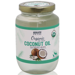 Absolute Plus Organic Raw Virgin Coconut Oil For Pets