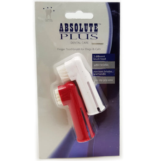Absolute Plus Finger Toothbrushes For Cats & Dogs