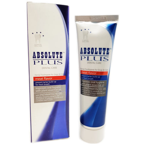 Absolute Plus Dental Toothpaste For Cats & Dogs (Meat Flavour) 100g