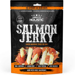 18% OFF: Absolute Holistic Grain-Free Salmon Dumbbell Dog Treat 100g