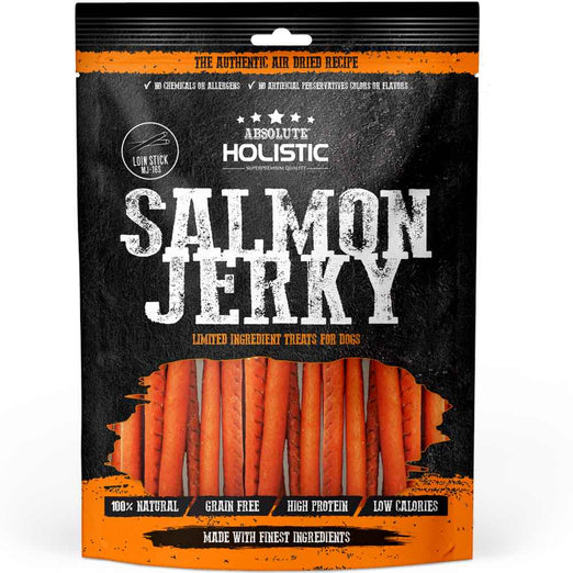 18% OFF: Absolute Holistic Grain-Free Salmon Loin Stick Dog Treat 150g