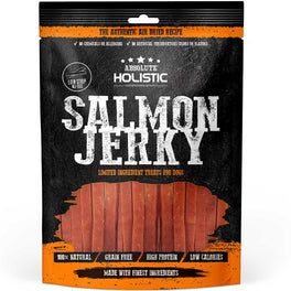 18% OFF: Absolute Holistic Grain-Free Salmon Loin Strip Dog Treat 100g