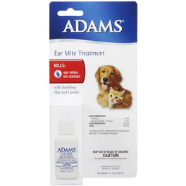 Adams Ear Mite Treatment 15ml