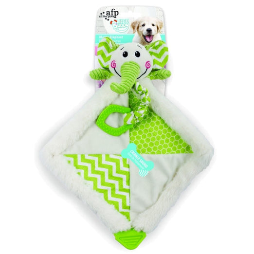 All For Paws Little Buddy Blanky Elephant Dog Toy