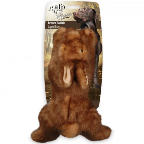 All For Paws Classic Rabbit Plush Dog Toy