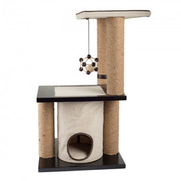 All For Paws Two Level Climb and Play Cat Scratcher