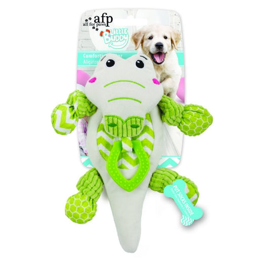20% OFF: All For Paws Little Buddy Comforting Gator Dog Toy
