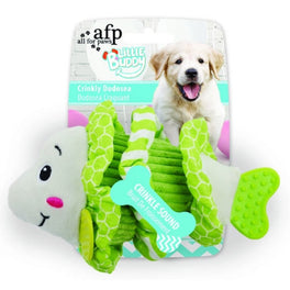 All For Paws Little Buddy Crinkly Dodosea Dog Toy