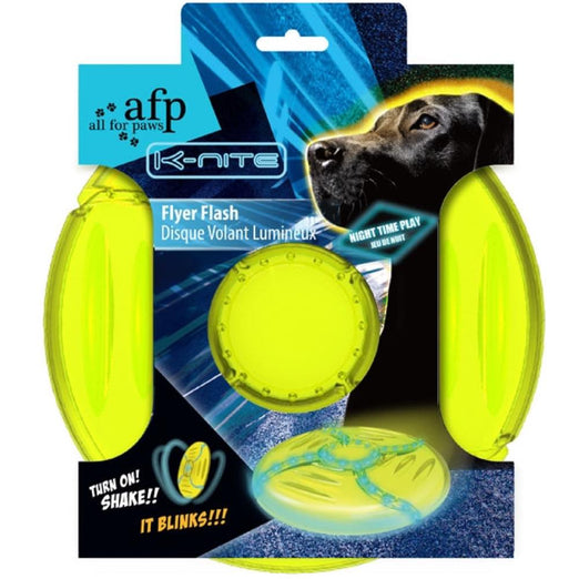 All For Paws K-Nite Flyer Flash Dog Toy