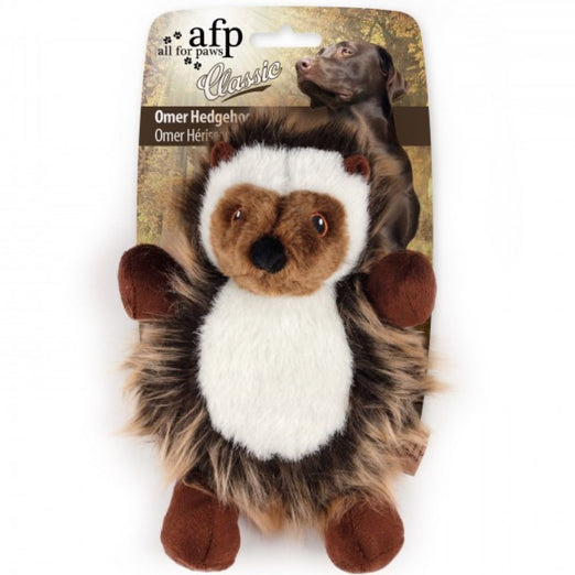 All For Paws Classic Omer The Hedgehog Plush Dog Toy