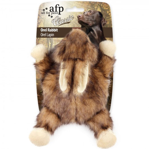 All For Paws Classic Orel The Rabbit Plush Dog Toy
