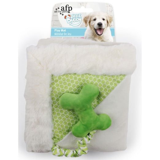 All For Paws Little Buddy Play Mat Dog Toy (Green)