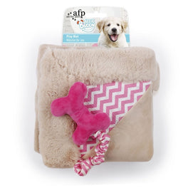 All For Paws Little Buddy Play Mat Dog Toy (Pink)