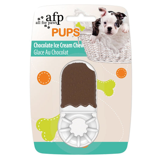 All For Paws Pups Chocolate Ice Cream Chew Dog Toy - Kohepets