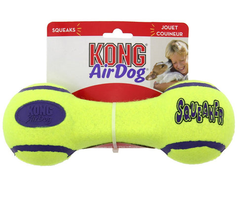 KONG Air Dog Squeaker Dumbbell Medium
