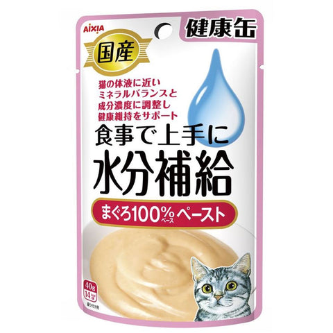 Aixia Kenko-Can Tuna Paste Pouch Cat Food 40gx12 - Kohepets