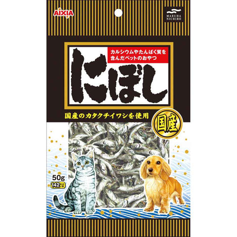 Aixia Niboshi Anchovy Cat Treats