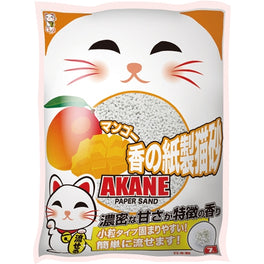 2 FOR $22: Akane Mango Paper Cat Litter 7L
