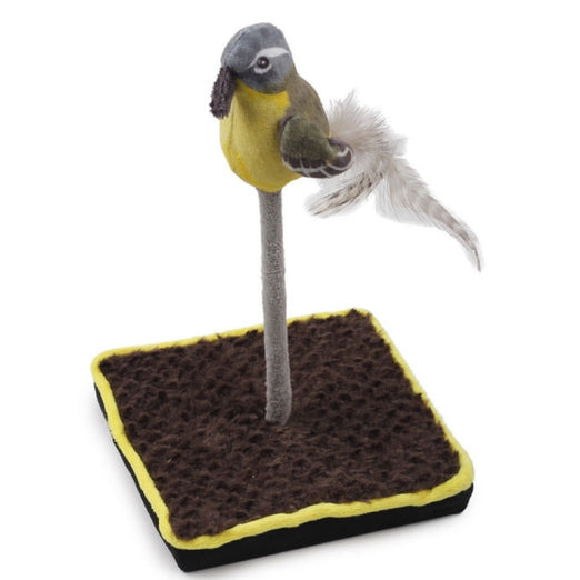 All For Paws Bird Floor Wand Cat Toy - Kohepets