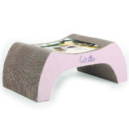 All For Paws Catzilla Bridge Cardboard Scratcher