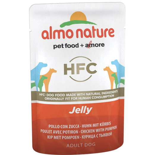Almo Nature Classic Chicken & Pumpkin In Jelly Pouch Dog Food 70g