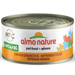 15% OFF: Almo Nature HFC Natural Chicken Drumstick Canned Cat Food 70g