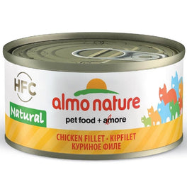 15% OFF: Almo Nature HFC Natural Chicken Fillet Canned Cat Food 70g