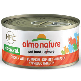 15% OFF: Almo Nature HFC Natural Chicken With Pumpkin Canned Cat Food 70g