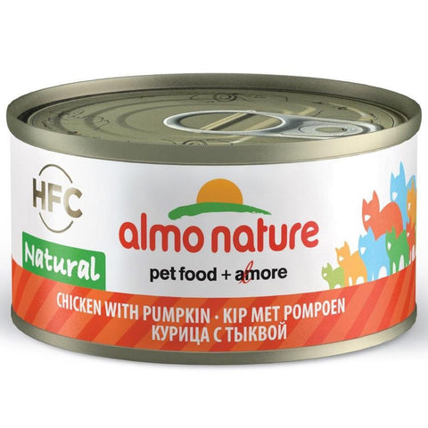 Almo Nature HFC Natural Chicken With Pumpkin Canned Cat Food 70g