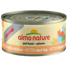Almo Nature HFC Natural Kitten Chicken Canned Cat Food 70g