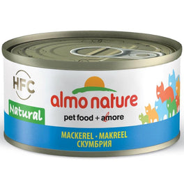 15% OFF: Almo Nature HFC Natural Mackerel Canned Cat Food 70g
