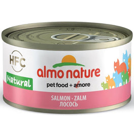 15% OFF: Almo Nature HFC Natural Salmon Canned Cat Food 70g